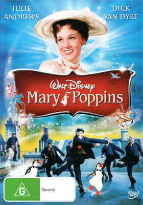 Mary Poppins DVD R4 Brand New!