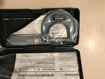 """Mitutoyo 103-135 Outside Mechanical Micrometer 0-1"""""""