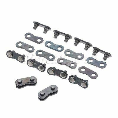 10 Sets Chain Joiner Links For JOINING 325 058 CHAINS Chainsaw Accessories Tool