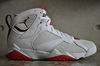 "Nike Air Jordan 7 Retro ""Hare"" 2015 - White/True Red-Lght Slvr Trmln"
