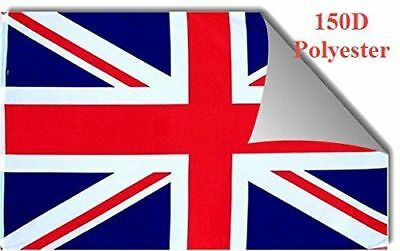THREE PACK 3x5 British Union Jack United Kingdom UK 150D Flag 3'x5' Banner