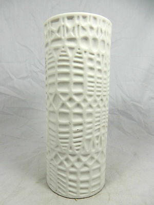 Cool 70´s Pop Art Design Thomas relief porcelain Relief Porzellan Vase 20 cm