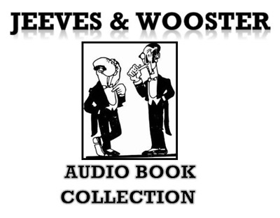 JEEVES AND WOOSTER 17 AUDIO BOOK COLLECTION MP 3 DVD P G WODEHOUSE talking books