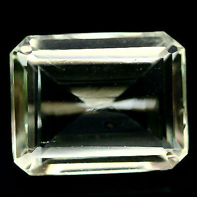 5.82 Ct Aaa! Natural! Light Green Uruguay Amethyst