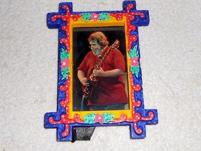 Jerry Garcia Framed Photo from 1990