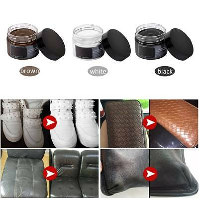 Useful Stain Wax Leather Renovation Polish For Leather Shoes Bags Sofas Gloves