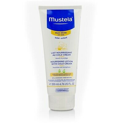 Mustela Nourishing Body Lotion With Cold Cream - For Dry Skin 200ml Womens Skin