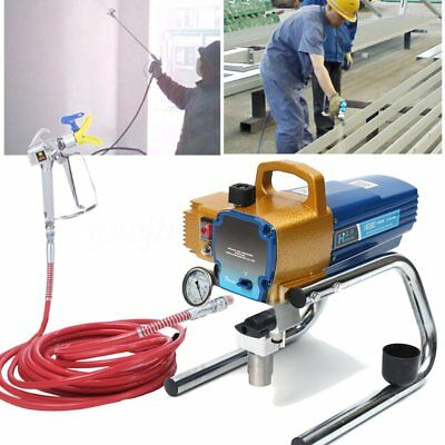 AU H680 2.8L/min High Pressure Airless Wall Paint Spray Gun Pro Sprayer Machine
