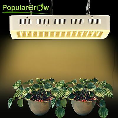 600W LED Grow Light kit Full Spectrum Hydro System Plant Growth Lamp CA Stock