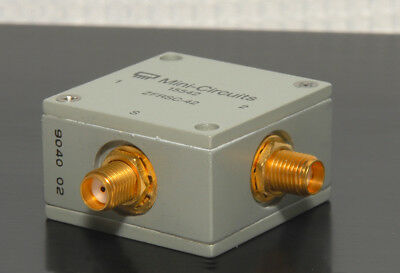 MINI-CIRCUITS ZFRSC-2-1 RESISTIVE POWER SPLITTER/COMBINER 2 Way-0° 50Ω 5-500 MHz