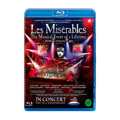 Les Miserables: In Concert 25th Anniversary (2012, Blu-ray)