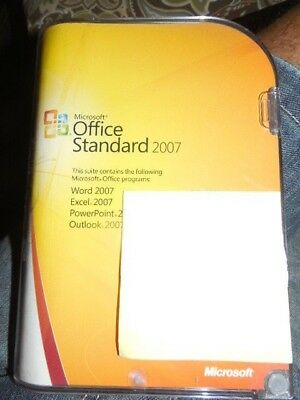 Microsoft Office Standard 2007 Full Version = Word PowerPoint Excel Outlook