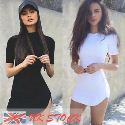 UK Sexy Womens Lady Bandage Bodycon Party Evening Cocktail Club Short Mini Dress