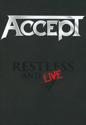 Accept Restless And Live Dvd Region 0 Pal 5.1 & 2 Cd New