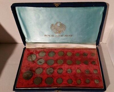 THAI ROYAL MINT SET with original case