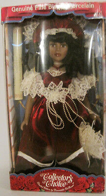 Collector's Choice Fine Bisque Porcelain Doll Limited Edition