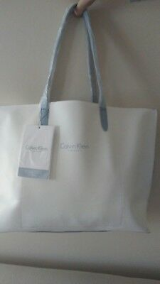 01385cd5ae36a CALVIN KLEIN FRAGRANCES Tote Shopper Shoulder Handbag NEW w Tag ...