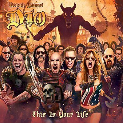 Vinile RONNIE JAMES DIO THIS IS YOUR LIFE Various Artists RHINO RECORDS Nuovo