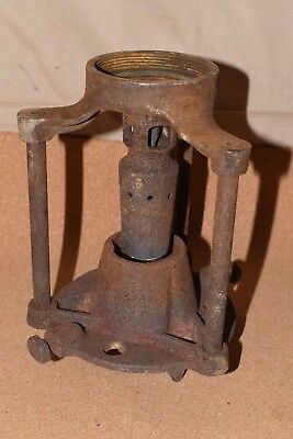 Antique Lead Melter Smelter Propane LPG Fire Pot Burner Assembly 1936 Greenfield