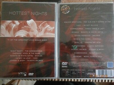 Musik Dvd - Hottest Nights - Greatest Love Songs Ever (K157)