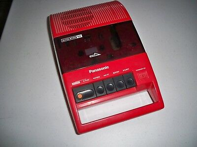 Vintage Panasonic Cassette Player RQ 44 A  70's 80's Works Very Nice Rare