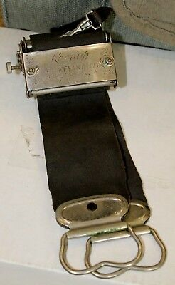 1907 RARE Razor Sharpener Old Keenoh Stropper Straight Razors Safety Razor