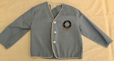 Vintage 1960s Little Boy's Nautical Jacket SS Lucky Size 4 Chest 26