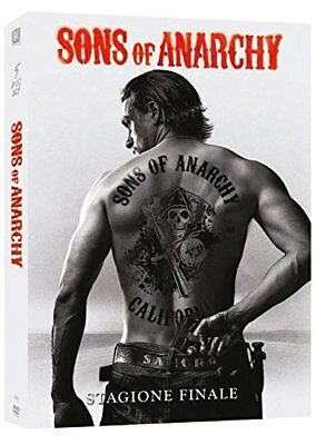 DVD SONS OF ANARCHY STAGIONE 7 (5 ) Charlie Hunnam WARNER BROS Nuovo