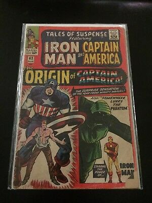 Tales of Suspense 63 - Origin of Captain America -