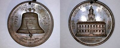 So-Called Dollar HK-25 1876 U.S. Centennial Expo Bronze Liberty Bell - Red/Brown