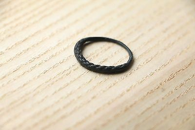 Interesting BLACK VIKING Kievan Rus Grained  Ring 10 -12 AD