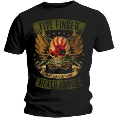Five Finger Death Punch - Locked And Loaded Shirt