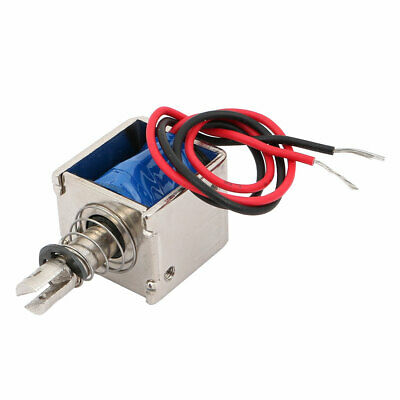 JF-0826B DC6V 2A 10mm/20N Push Pull Type Electromagnet Solenoid Open Frame
