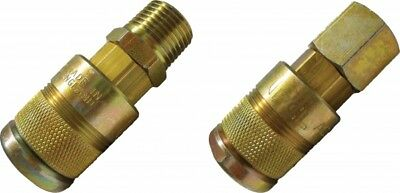 """AC4CF PCL 60 Series Coupling 1/4"""" BSPP Female"""