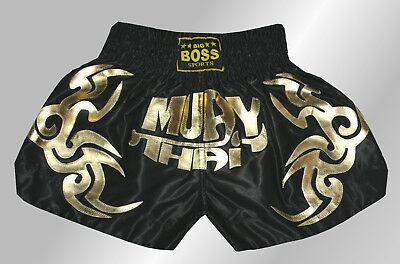 Big Boss Muay Thai, Kickboxen, K-1 Kampfsport kurze Hose Short Gr.S,M,L,XL