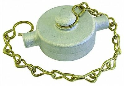 CCA64 Cam & Groove Accessory - Alloy Cap & Chain BSPP Female Thread 4""