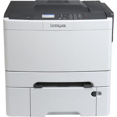 LEXMARK - CS410DTN Color Printer - Black/Gray
