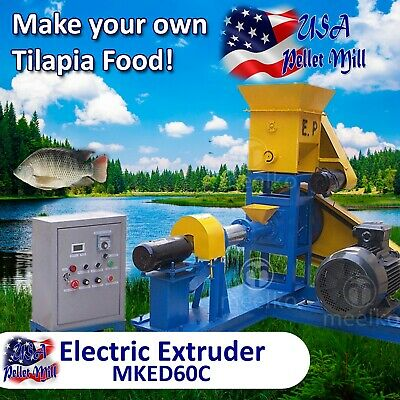 Electric Extruder for Tilapia Food - MKED60C