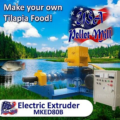 Electric Extruder for Tilapia Food - MKED80B