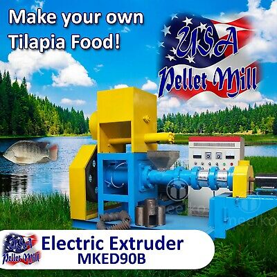 Electric Extruder for Fish Food - MKED90B