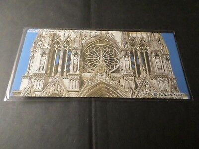 FRANCE 2011, BLOC SOUVENIR 58, REIMS, CATHEDRALE, neuf**, MNH STAMP