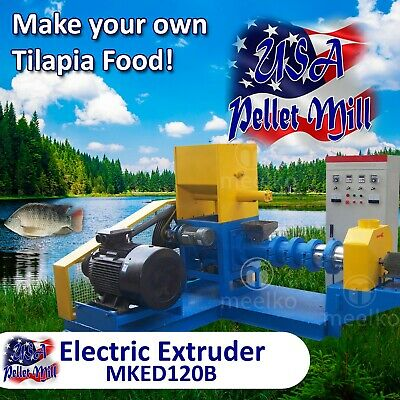 Electric Extruder for Tilapia Food - MKED120B