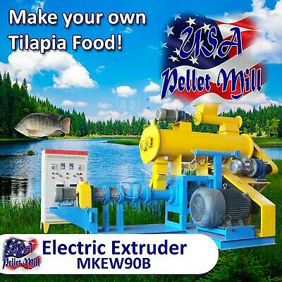 Electric Extruder for Tilapia Food - MKEW90B