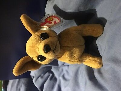 TY Beanie Baby, Tiny the Chihuahua, RETIRED, Rare, MWMT, TAG ERRORS,