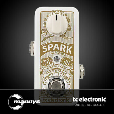 TC Electronic Spark Mini Booster Guitar Boost Pedal