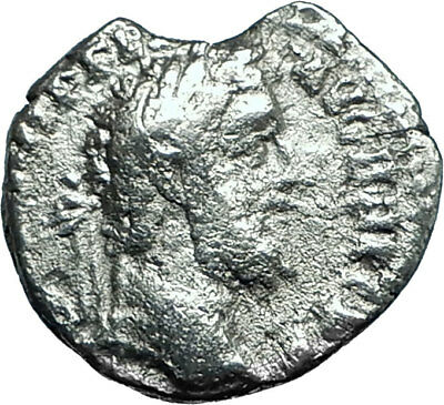 COMMODUS Genuine 191AD Rome Authentic Ancient Silver Roman Coin CONCORDIA i66107