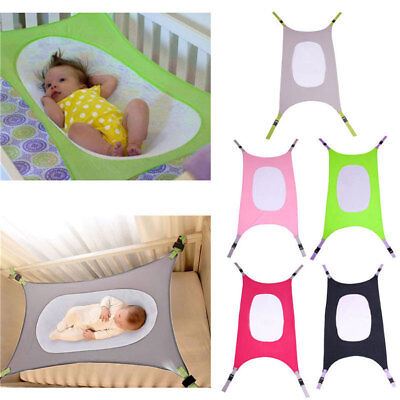 Portable Baby Hammock Newborn Baby Infant Bed Cot Elastic Detachable Baby Crib