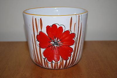 4 3/4 inch tall Made In Italy Flower Pot - NICE!!!