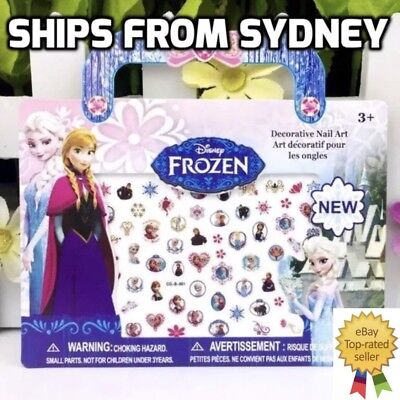 Frozen and Princess Kid Nail Art Stickers 140 Stickers
