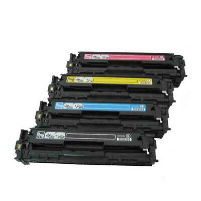4PK Combo Set Toner Cartridges for Canon131 , Canon 131A,Canon 131X,